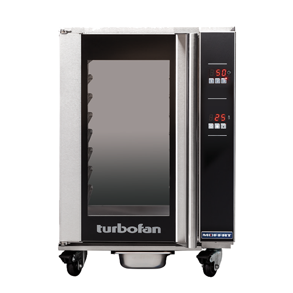 Moffat Moffat H8D-UC Turbofan® Undercounter Glass Door Mobile Heated Holding Cabinet, 110-120 Volts