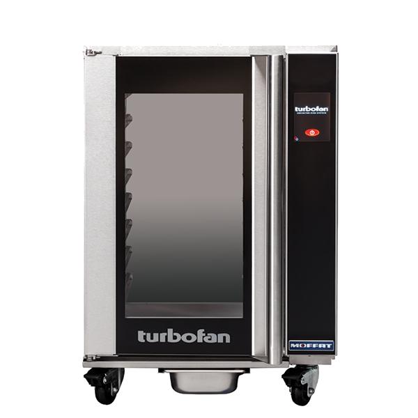 Moffat Moffat H8T-UC Turbofan® Undercounter Glass Door Mobile Heated Holding Cabinet, 110-120 Volts