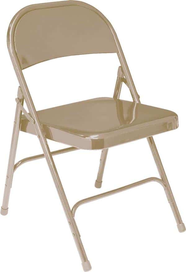 National Public Seating 51 50 Series Standard All-Steel Folding Chair