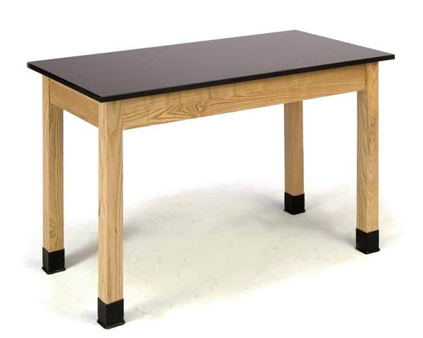 """National Public Seating PSLT3072-36 36"""" H Phenolic Top Science Lab table"""