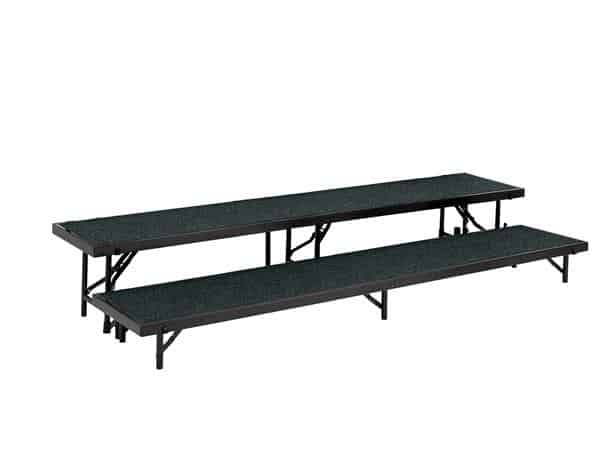 National Public Seating RS2LC 2 Level Riser