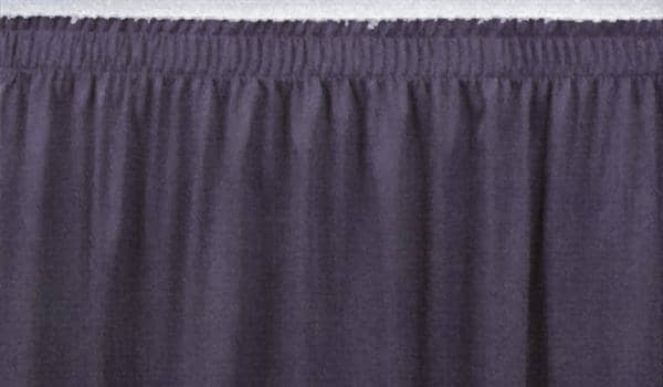 """National Public Seating SS8-48 8""""H Stage Shirred Pleat"""