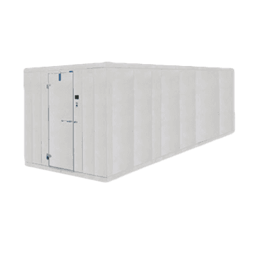 "Nor-Lake 10' x 40' x 8'-7"" H COMBO Fast-Trak™ Outdoor Two Compartment Walk-In"