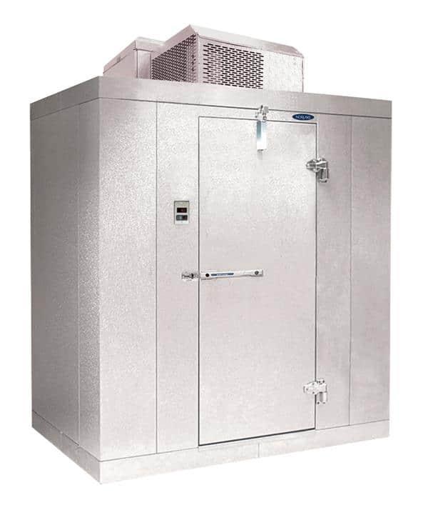 "Nor-Lake KODF1010-C 10' x 10' x 6'-7"" H Kold Locker Outdoor Freezer with floor"