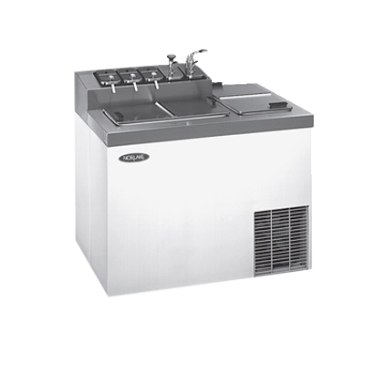 Nor-Lake ZF124SVS/0 Ice Cream Dipping/Topping Cabinet