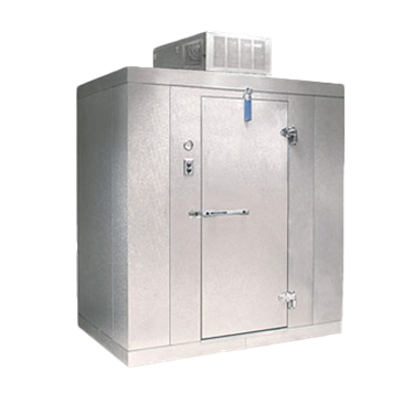 "Nor-Lake KLB87814-C 8' x 14' x 8'-7"" H Kold Locker Indoor Cooler with floor"