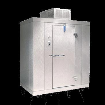 """Nor-Lake KLF8788-C 8' x 8' x 8'-7"""" H Kold Locker Indoor Freezer with floor"""