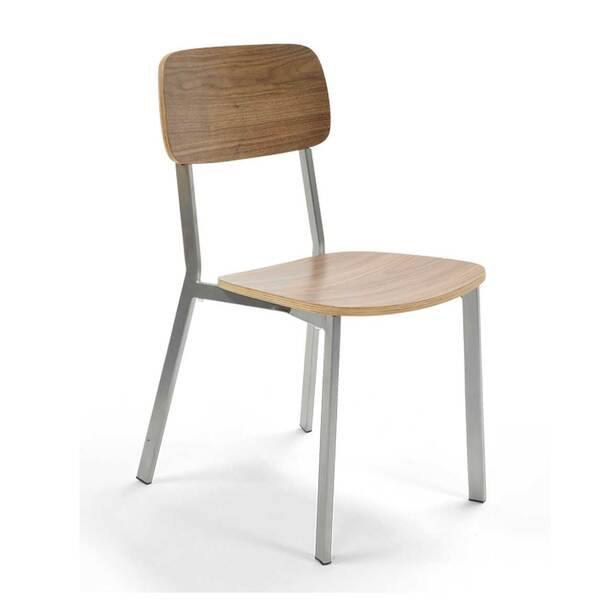 Original Wood Seating M54 P7 Com Canal Stacking Side Chair