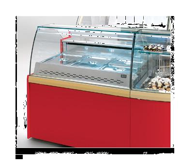 Oscartek CLASSIC CCS1000 Classic Heated/Hot Showcase/Display