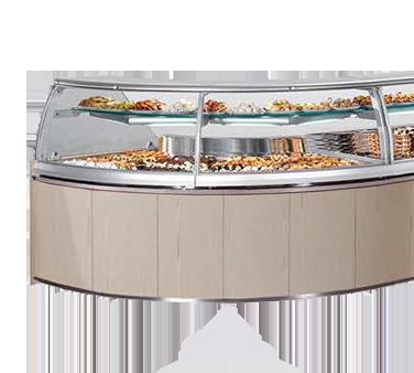 Oscartek CLASSIC II CIIDPC1700 Classic II Chocolate Showcase/Display