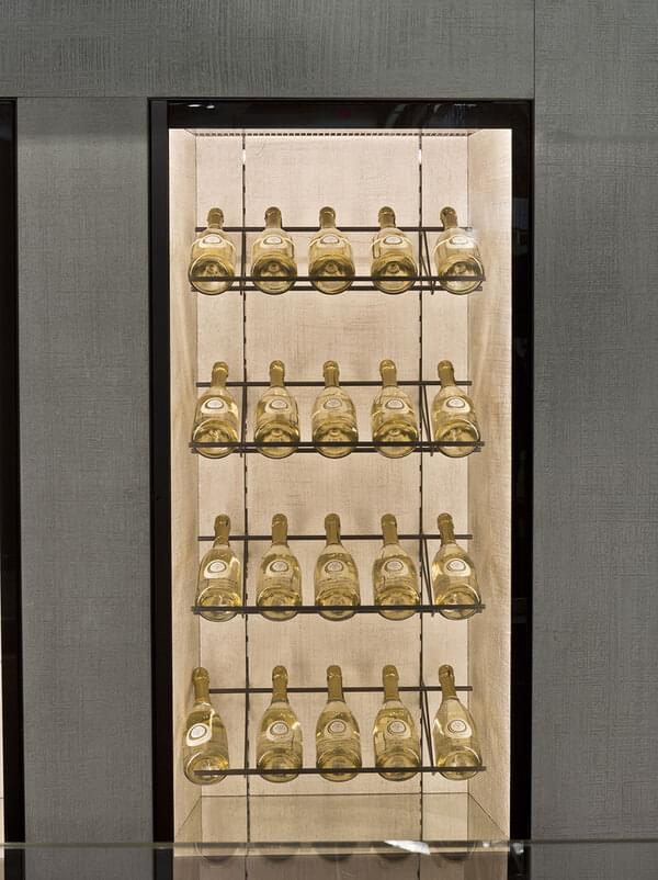 Oscartek MURO GALA W2274 Muro Gala Modular Wine refrigerated wall cabinet