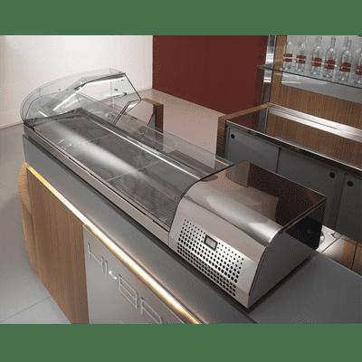"""Oscartek Oscartek TC1250T Tapas Display (Curved Glass) 62"""" length"""