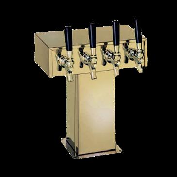 Perlick Corporation Corporation 4006-3BTF2 Tee Draft Beer Tower