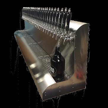 Perlick Corporation Corporation 4076BK18 Modular Draft Beer Dispensing Tower