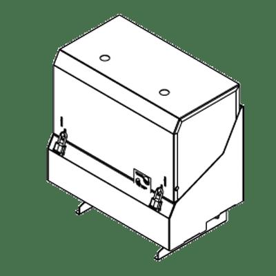 Perlick Corporation Corporation SRLC-D30R Locking Speed Rail Cover