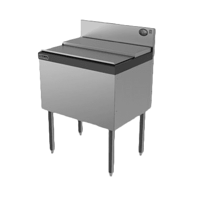 """Perlick Corporation TS30IC10 TS Series Ice Chest, Stainless Steel with 70 lbs. Ice Capacity 10-Circuit Cold Plate - 30""""W x 18.56""""D"""