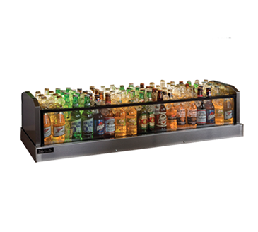 Perlick Corporation Corporation GMDS14X72 Glass Merchandiser Ice Display