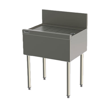 Perlick Corporation Corporation TS12 TS Series Underbar Drainboard