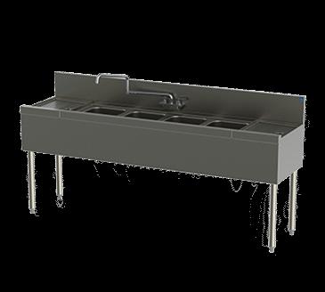Perlick Corporation Corporation TS44C TS Series Underbar Sink Unit