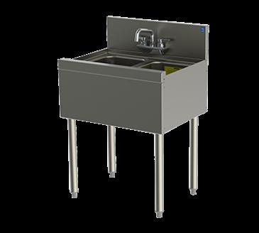 Perlick Corporation Corporation TSD22C TSD Series Underbar Sink Unit
