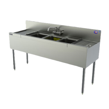 Perlick Corporation Corporation TSD43L TSD Series Underbar Sink Unit