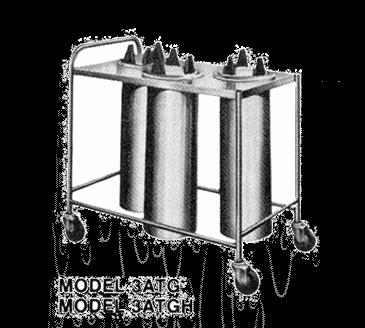 Piper Products/Servolift Eastern 3ATG7 Plate Dispenser