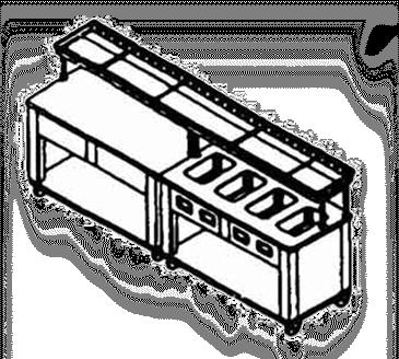 Piper Products/Servolift Eastern ESC-74 Conveyor