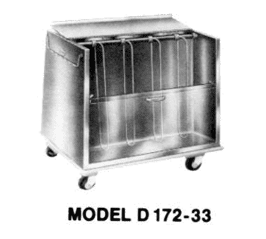 Piper Products/Servolift Eastern Piper Products/Servolift Eastern D172-23 Dish Cart