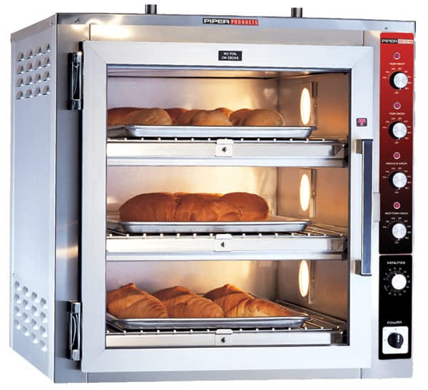 Piper Products/Servolift Eastern Piper Products/Servolift Eastern DO-3-CT Super Systems Hearth Type Oven