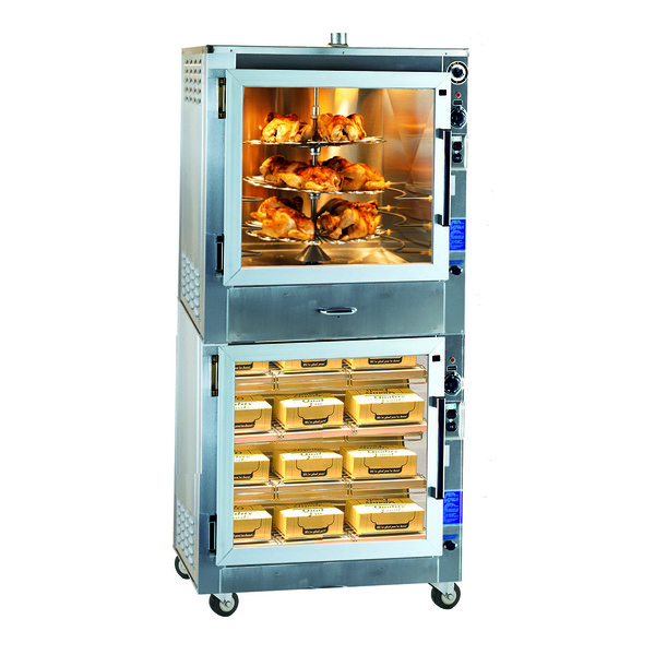 Piper Products /Servolift Eastern RO-1-WB Super Systems Barbeque Machine/Display Warmer
