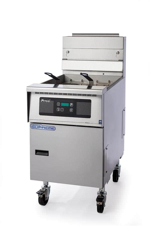 Pitco Frialator SSH75-4FD Solstice Supreme High Efficiency Prepackaged