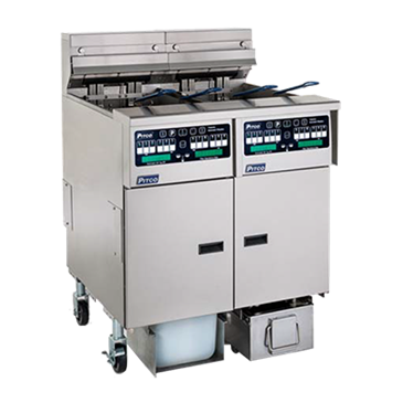 Pitco Frialator SELV14C-2/14T-2/FD Solstice Reduced Oil Volume Fryer System