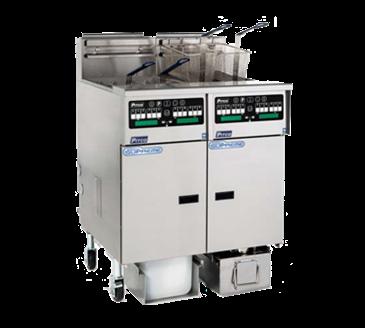 Pitco Frialator SSHLV14C-2/14T/FD Solstice Supreme Reduced Oil Volume Fryer System