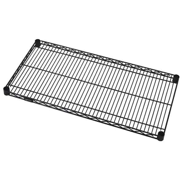 Quantum Food Service 2430BK Wire Shelf