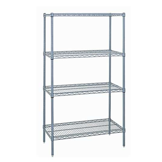 Quantum Food Service WR63-1260GY Wire Shelving Starter Kit