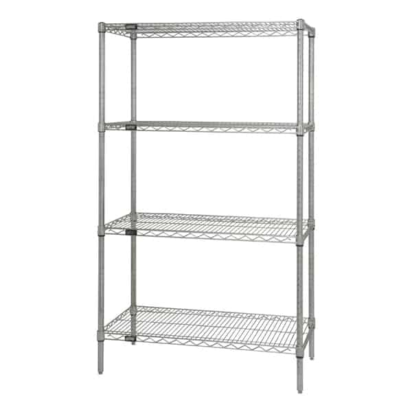 Quantum Food Service WR63-2124C Wire Shelving Starter Kit