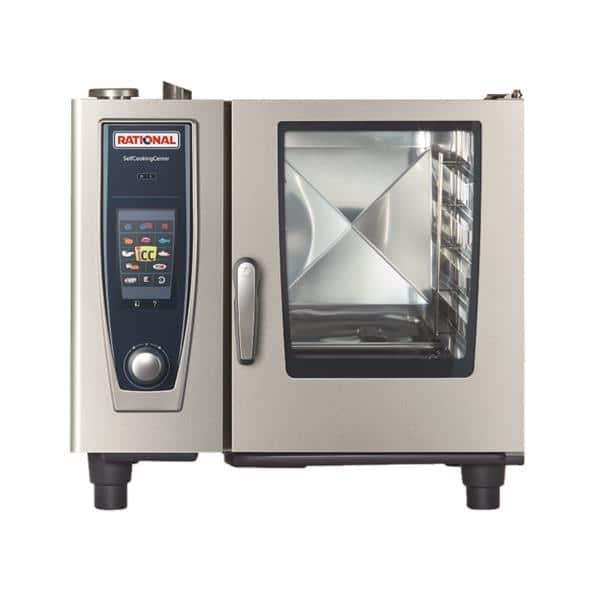 Rational B618206.19E (SCC 61NG – 208/240V) SelfCooking Center® Combi