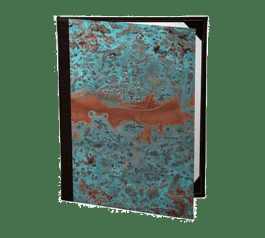 Risch PATINA-3V 8.5X11 Patina Menu Cover