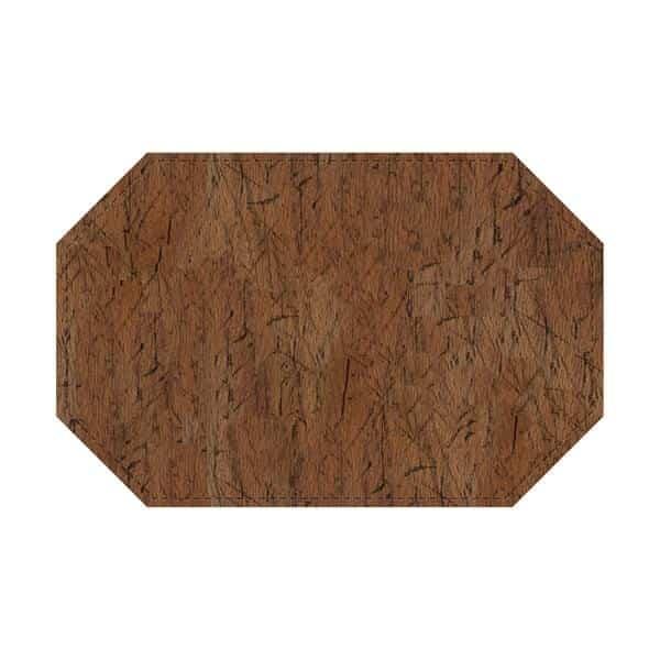 Risch PLACEMATDXOCT-DRIFTWOOD Driftwood Premium Placemat