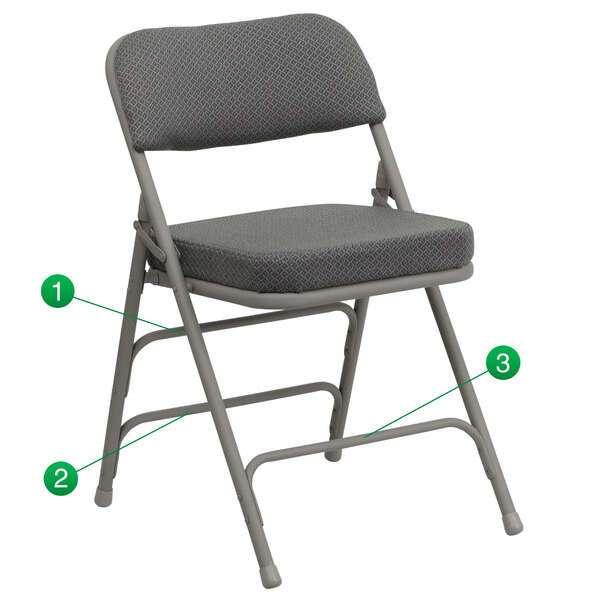 Riverstone Restaurant Furniture RF-RR38479 Hercules Series Premium Folding Chair