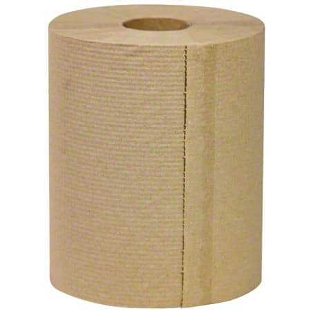 "RJ Schinner S1286 Simple Earth Hardwound Towel 8"" X 800', Natural"