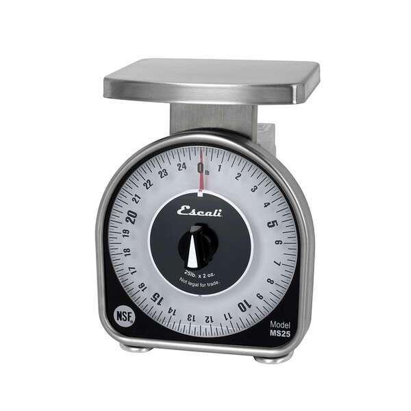 San Jamar SCMDL25 Escali Mechanical Dial Scale