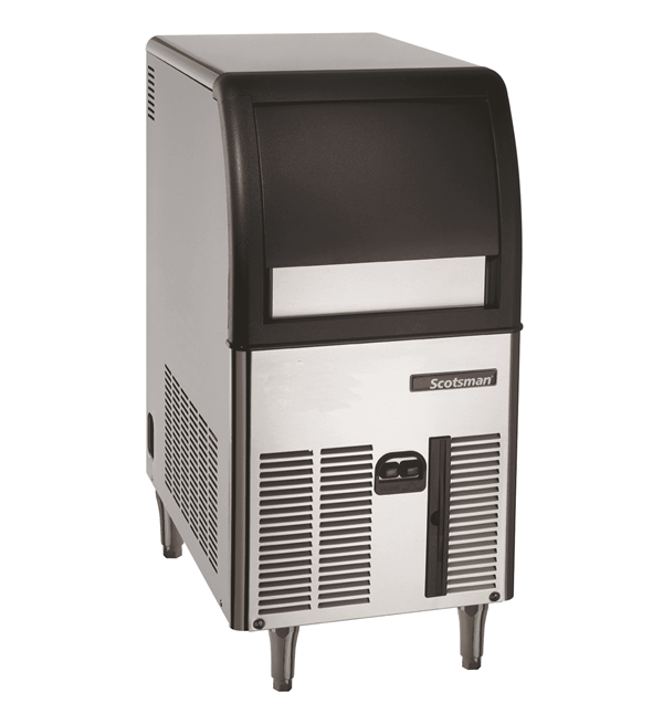 """Scotsman CU0515GA-1 15"""" Full-Dice Ice Maker With Bin, Cube-Style - 50-100 lbs/24 Hr Ice Production, Air-Cooled, 115 Volts"""