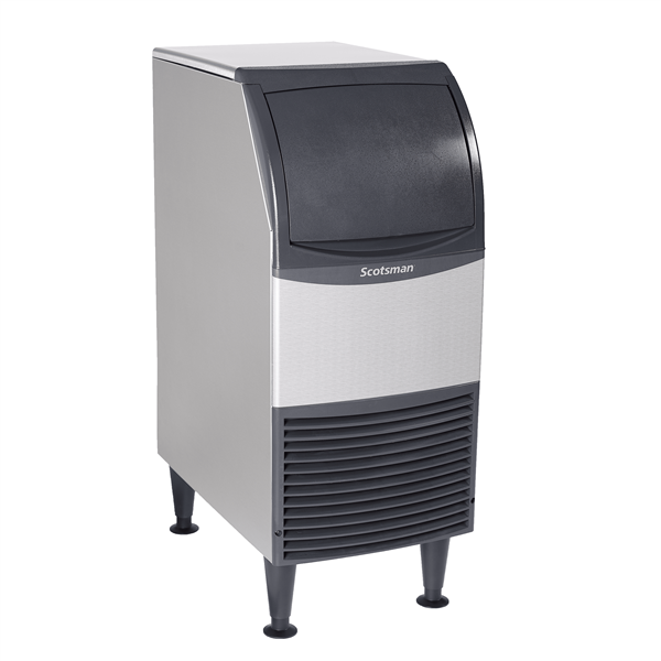 "Scotsman CU0715MA-1 15"" Full-Dice Ice Maker With Bin, Cube-Style - 50-100 lbs/24 Hr Ice Production, Air-Cooled, 115 Volts"