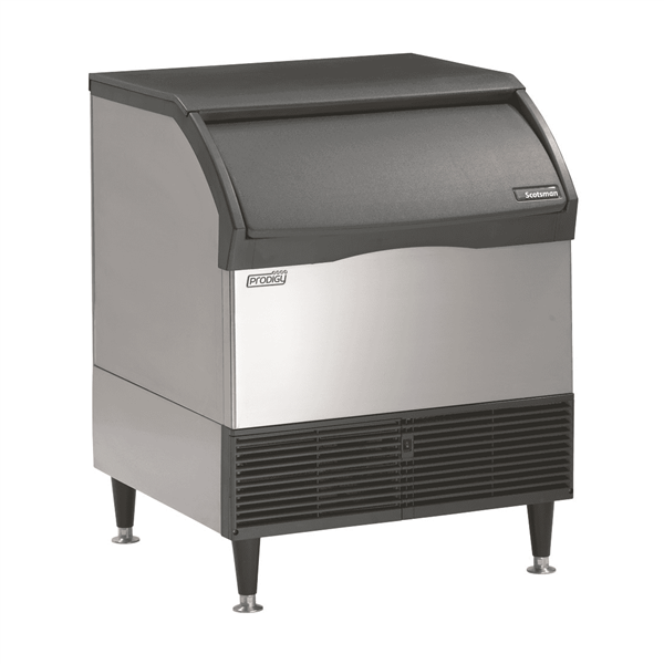 """Scotsman CU3030MA-1 30"""" Full-Dice Ice Maker With Bin, Cube-Style - 200-300 lbs/24 Hr Ice Production, Air-Cooled, 115 Volts"""