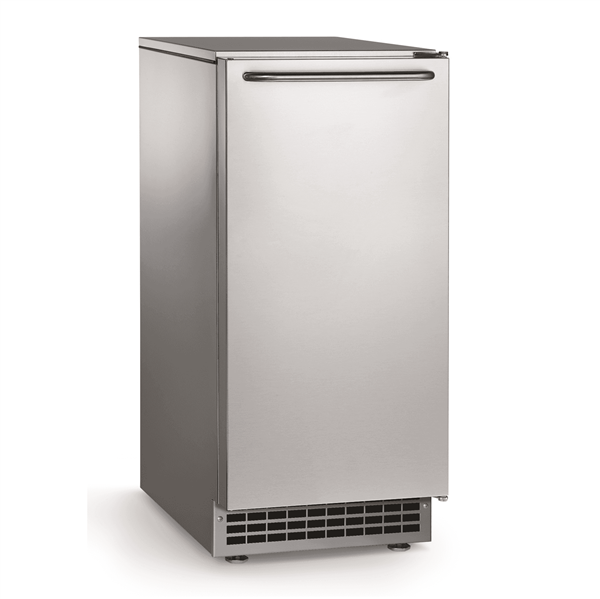 """Scotsman CU50GA-1 14.88"""" Full-Dice Ice Maker With Bin, Cube-Style - 50-100 lbs/24 Hr Ice Production, Air-Cooled, 115 Volts"""