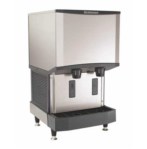 "Scotsman Scotsman HID525A-1    21.25"" Nugget Ice Maker Dispenser, Nugget-Style - 500-600 lb/24 Hr Ice Production, Air-Cooled, 115 Volts"