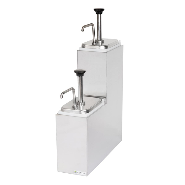 Server Products 89938 SR-2T TIERED SERVING STATION