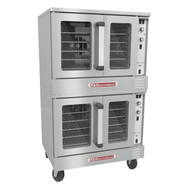 Southbend BGS/22SC Double Deck Gas Convection Oven with Dials / Buttons Contols, 120 Volts
