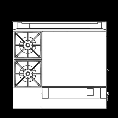 Southbend P36N-BGG Platinum Heavy Duty Range